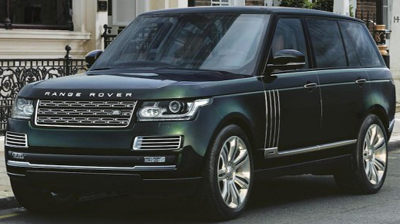 2015 Range Rover by Land Rover Special Vehicle Operations and Holland & Holland: £180,000.