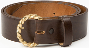 Holland & Sherry Twist Belt and Buckle: US$248.