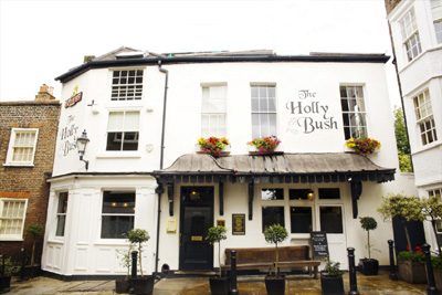 The Holly Bush, 22 Hollymount, Hampstead, London NW3 6SG, England, U.K.