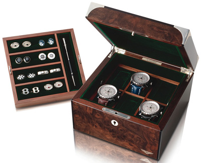 Anthony Holt Bentley Watch Box in Walnut: £4,500.