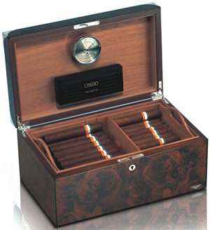 Anthony Holt Bentley Humidor in Walnut: £4,995.
