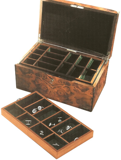 Anthony Holt Bentley Jewellery Box in Walnut: £4,995.