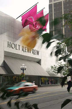 Holt Renfrew flagship store on Bloor Street.