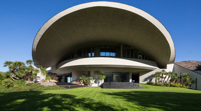 Bob Hope Residence, 2466 Southridge Drive, Palm Springs, CA, U.S.A.