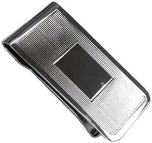 E.B. Horn Sterling Silver 1-inch Money Clip: US$175.