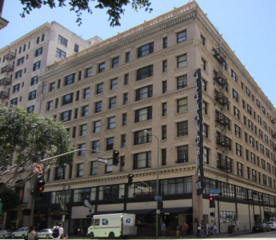 Hotel Alexandria, 501 South Spring Street, Downtown Los Angeles.