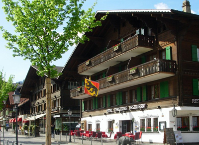 Hotel Christiania, Untergstaadstrasse 26, CH-3780 Gstaad.
