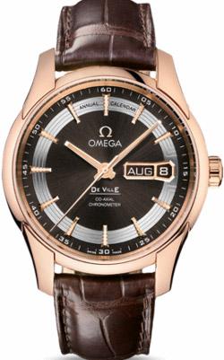 Omega De Ville Hour Vision Annual Calendar.