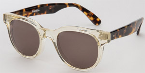Holland & Sherry Franklin men's sunglasses: US$260.