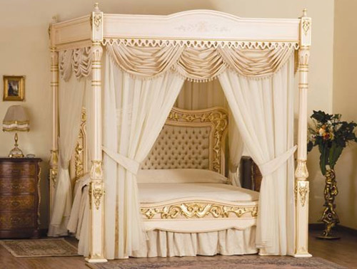 World's most expensive bed: Baldacchino Supreme by Stuart Hughes.
