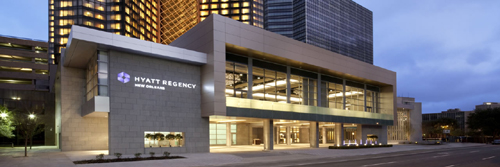 Hyatt Regency, 601 Loyola Ave, New Orleans, LA 70113.