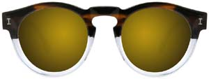 Illesteva Thassia for Illesteva World Cup Collection Men's Sunglasses: US$190.