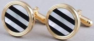 Indchino Gold Grills Cufflinks: US$39.