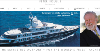 Peter Insull's Yacht Marketing.