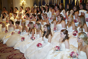 58th International Debutante Ball 2012 New York City.