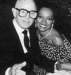 Irving Paul Lazar (1907-1993) and Diana Ross.