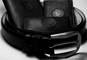 Isotta Fraschini luxury leather belts.