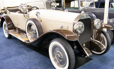 Isotta-Fraschini Tipo 8A Sala Phaeton (1924).