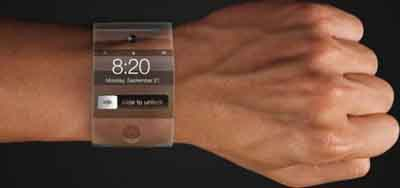 Apple's planned iWatch.
