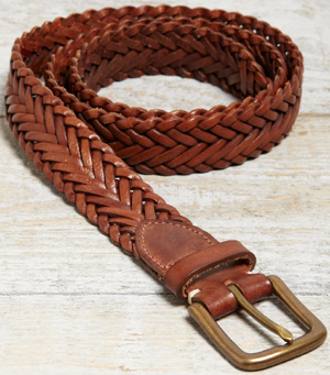 Jack Wills Woolfrey Plait Men's Belt: £49.50.