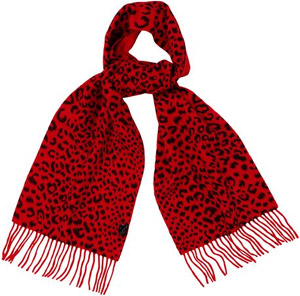 Jaeger Women's Animal Print Cashmere Scarf: £99.