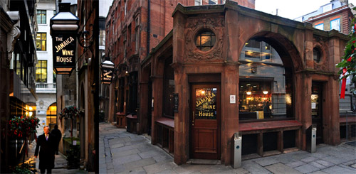 Jamaica Wine House, St Michael's Alley, Cornhill, London EC3V 9DS, England, U.K.