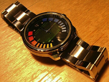 James Bond 007 GoldenEye watch.