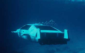 The Lotus Esprit S1 submarine car from the film is The Spy Who Loved Me (1977).