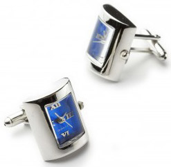 Jan Leslie watch cufflinks.