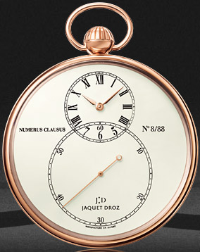 Jaquet Droz Legend:Geneva pocket watch.