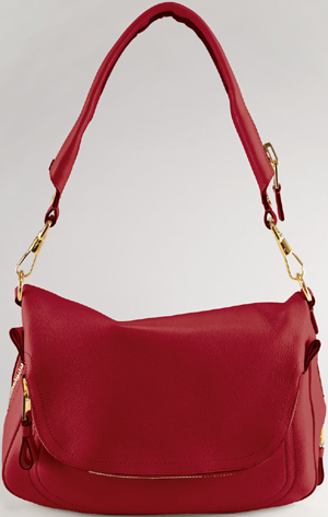 Tom Ford Jennifer Large Leather Shoulder Bag: US$2,990.