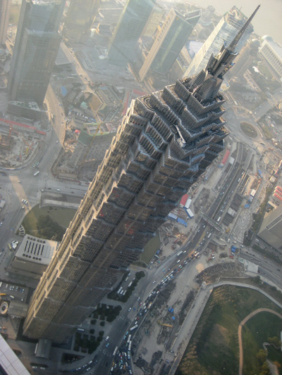 Jin Mao Tower, 88 Century Avenue, Pudong District, Shanghai 200121, China.