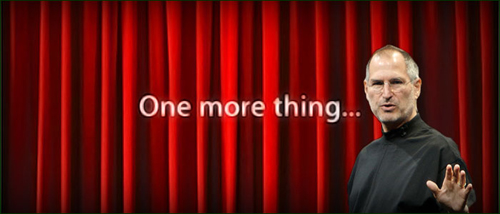"Steve Jobs ""One More Thing…"" complete compilation (1999-2011)."