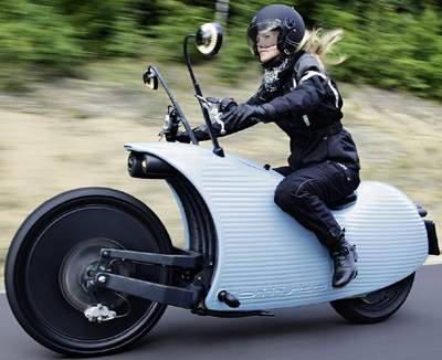 Johammer J1 Electric Motorcycle.