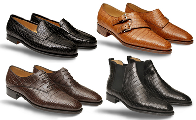 John Lobb crocodile shoes: £8,867.