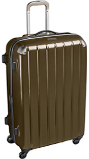 Johnston & Murphy Perennial Multiwheel Road Agent Luggage: US$375.