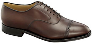 Johnston & Murphy Men's Aldrich II Cap-Toe Shoe: US$275.
