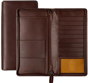 Johnston & Murphy Zip Traveler Wallet: US$98.