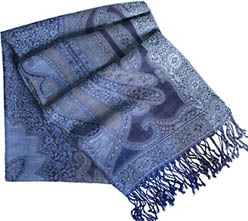 Johnston & Murphy Women's Paisley Scarf: US$48.