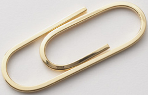 J.Press Money Clip Wire Gold, 14GF: US$175.