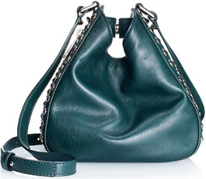 Juicy Couture Tough Girl Stevie Pinched Hobo Bag: US$298.