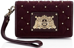 Juicy Couture Tech Wristlet Wallet: US$88.