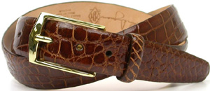Martin Dingman Julian American Alligator Belt: US$395.