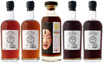 Karuizawa single malt whiskies.