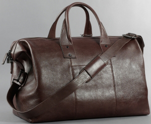 Kenneth Cole Roma Leather Satchel Duffle Bag: US$395.