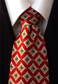 Kenneth Cole thick silk tie.