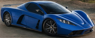Kepler Motors Motion supercar.