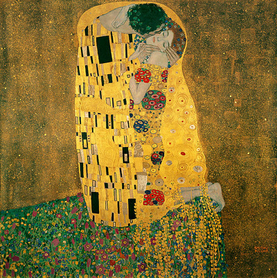 The Kiss (1907-1908) by Glustav Klimt.