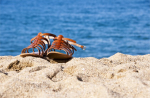 K.Jacques Saint-Tropez sandals.