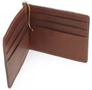 Korchmar MORGAN - R1241 - Clip Wallet: US$75.